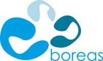 Logotipo a color de Boreas
