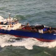 barco de pesca de la navaja